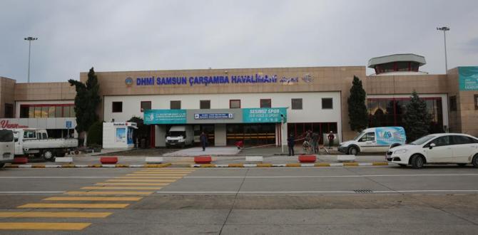 Ordu Trabzon Uçakları Samsun'a  İniyor!