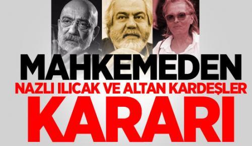 Altan Kardeşlere Ağırlaştırılmış Müebbet Hapis Cezası!