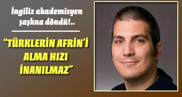 İngiliz Akamedisyen Afrin Zaferinden,Rahatsız!