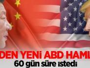 Ticaret savaşında,Çin Hamlesi!