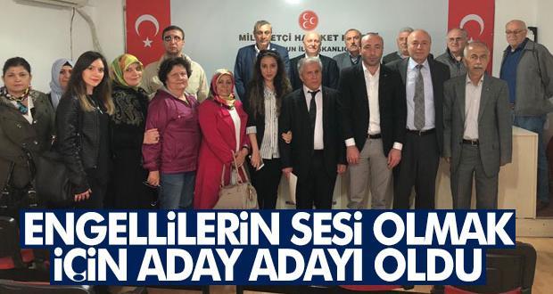 MHP'ye Yoğun Engelli Aday Adayı Müracaatı!