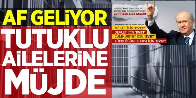 Devlet Bahçeli: Kader Kurbanları Affedilmeli!