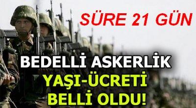Bedellide Son Nokta Erdoğan'dan!