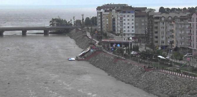 Ordu Samsun Sahil Yolu Trafiğe Kapandı!