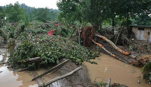 Fatsa'da Şiddetli Yağmur, İş yerlerini Sel Bastı!