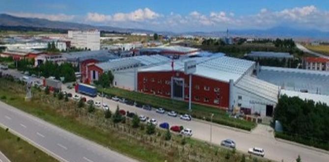 """Türkiye'nin İlk"""" Led Fabrikası"""",Merzifon'da Açıldı"""