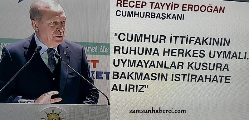 AKP'DE DEPREM!SAMSUN İL BAŞKANI GÖREVDEN ALINDI!
