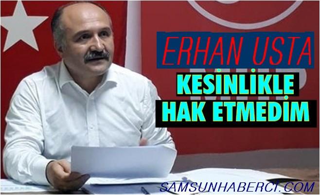 """ERHAN USTA """"İHRAÇ"""" EDİLDİ!"""