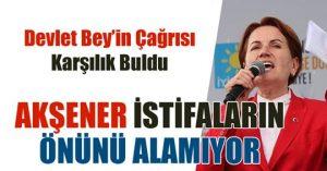 İYİ PARTİ'DEN İSTİFALAR DEVAM EDİYOR!