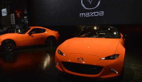 Mazda MX5'in 30 Yıl Versiyonu Fuar da Sow Yapacak!