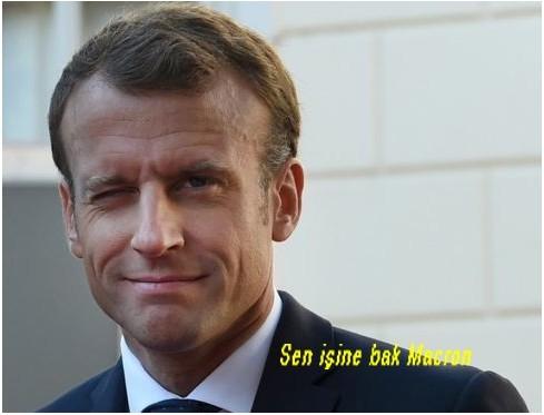 Macron YPG Diyor!