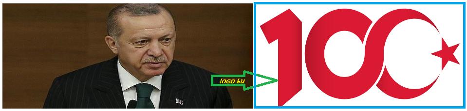 Başkan Erdoğan 100'üncü Yıl Logosunu Belirledi