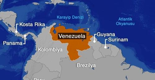 VENEZUELA'DA,DARBECİLERİN KARARGAHINA GİRİLDİ