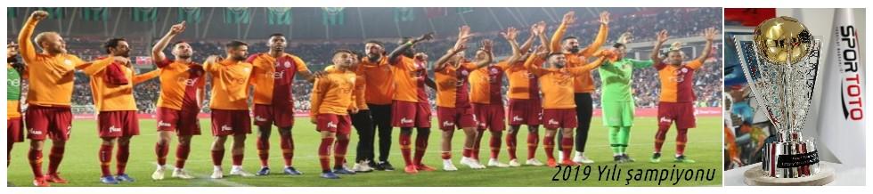 2019 Yılı Şampiyonu,Galatasaray Oldu
