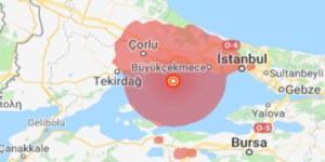 İSTANBUL'DA 5.8 ŞİDDETİNDE DEPREM!
