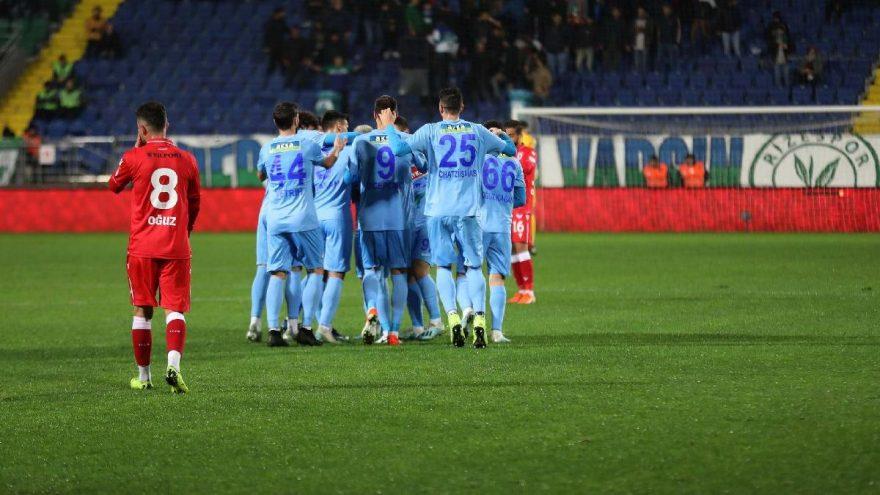 Çaykur Rizespor3 Samsunspor 2
