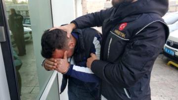 Evinden uyuşturucu satan genç tutuklandı
