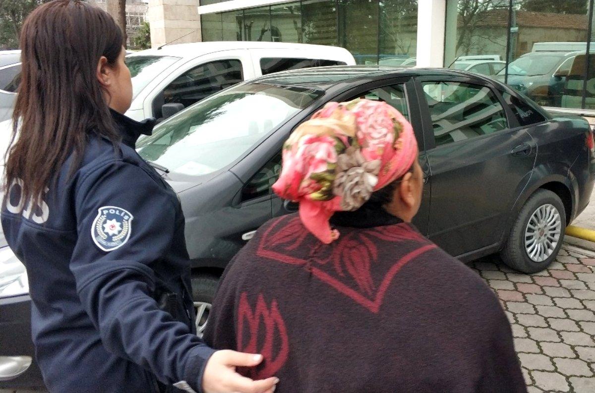 Komşu evini yaktığı iddia edilen kadına adli kontrol