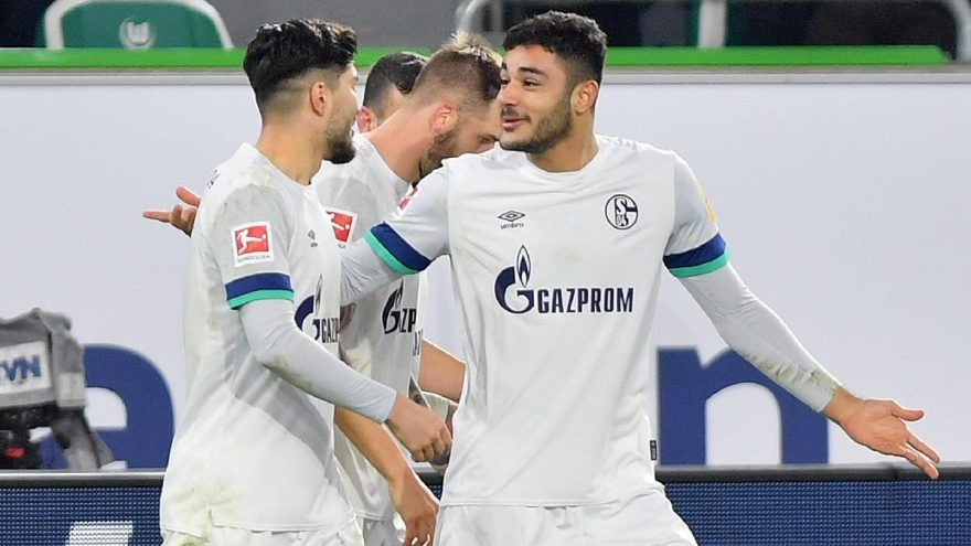 MAÇ SONUCU | Wolfsburg 1-1 Schalke 04 | Ozan Kabak'ın golü yetmedi