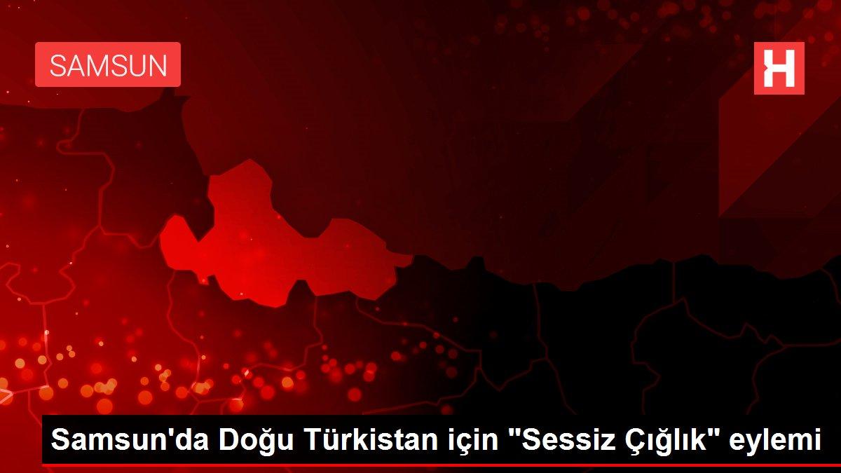 Samsun da Doğu Türkistan için