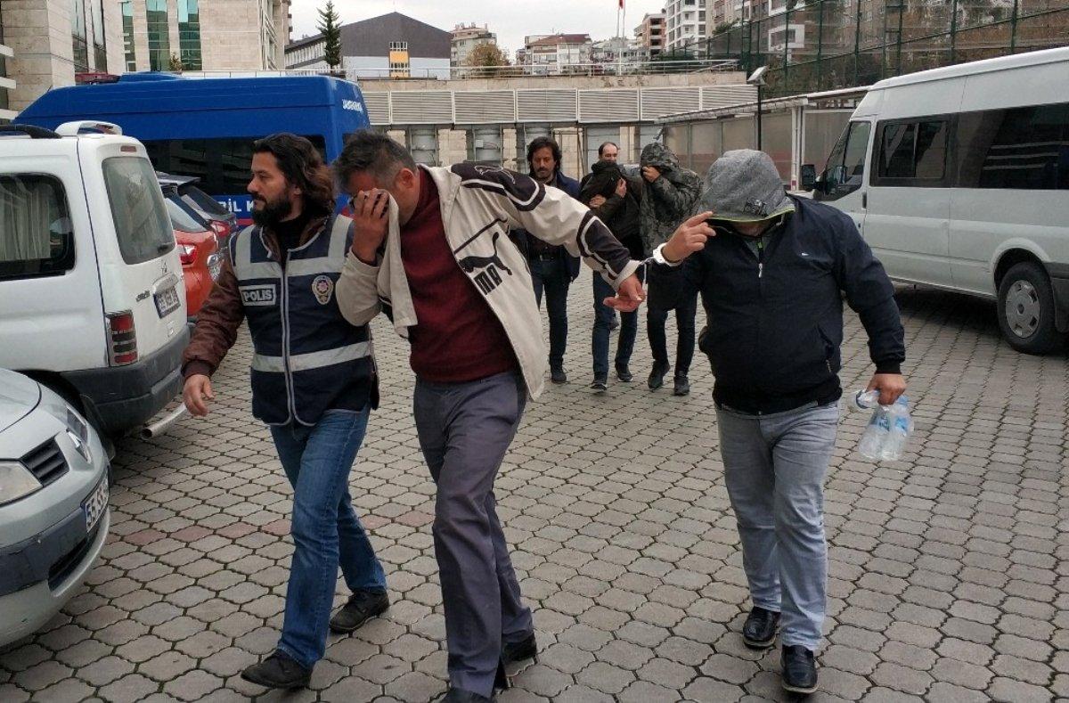 Samsun da hırsızlık çetesinden 4 kişi tutuklandı