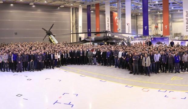 T-70 helikopteri hangardan çıktı