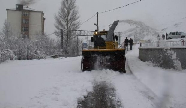 Van, Hakkari ve Bitlis'te kar yolları kapadı