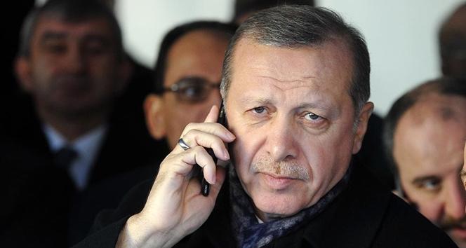 Cumhurbaşkanı Erdoğan, İran ve Irak Cumhurbaşkanı ile telefonda görüştü