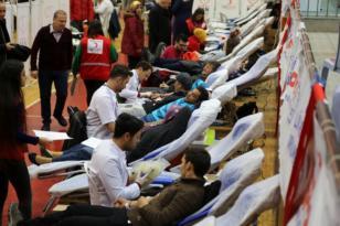 Ordu da iki günde bin 600 ünite kan toplandı