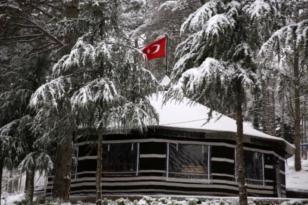 Ordu, kar yağışıyla beyaza büründü