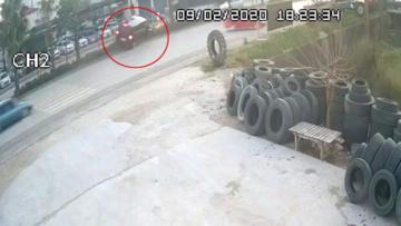AK Partili Mehmet Özhaseki, Menderes Türel ve Yusuf Ziya Yılmaz'ın yaralandığı kaza kamerada