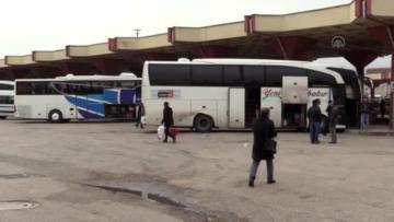 Otogarda kalan evsizler otele yerleştirildi