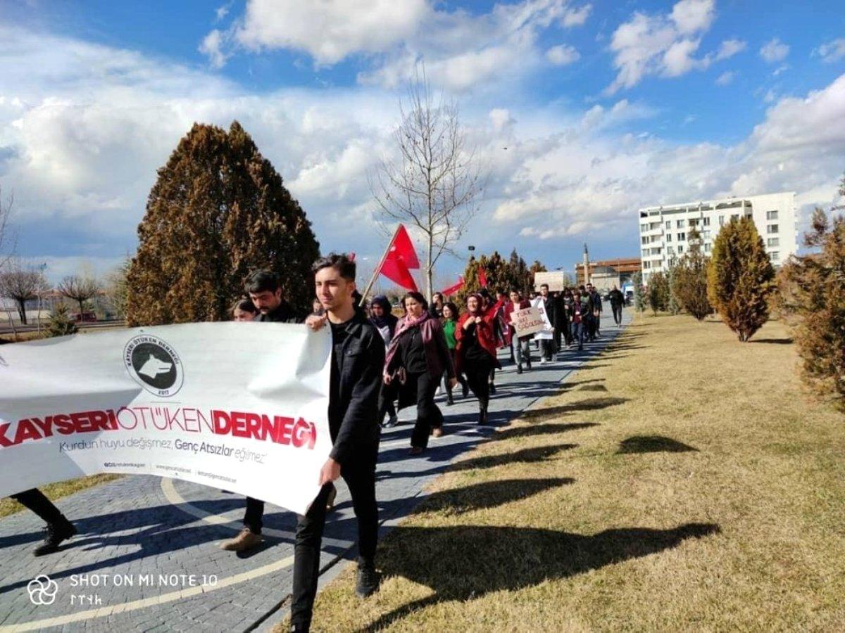 Ötüken den Ordu Millet yürüyüşü