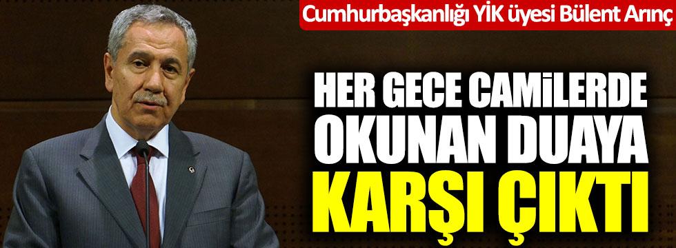 BÜLENT ARINÇ'A BÜYÜK TEPKİ!