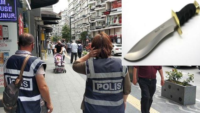 POLİSİN MASKE TAKIN SÖZÜNE BIÇAKLA KARŞILIK VEREN KİŞİ TUTUKLANDA!