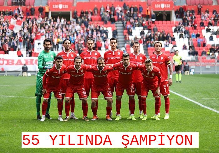 ŞAMPİYON SAMSUNSPOR