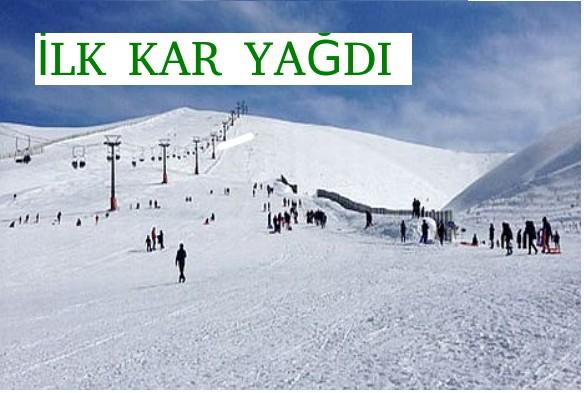 Samsun Ladik'e İlk Kar Yağdı
