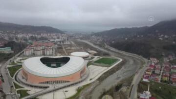 Giresun Çotanak Stadı için geri sayım başladı