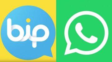 BİP WhatsApp Karşılaştırması