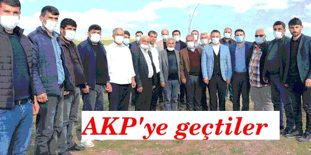 HDP'den istifa eden 200 kişi AKP'ye geçti!