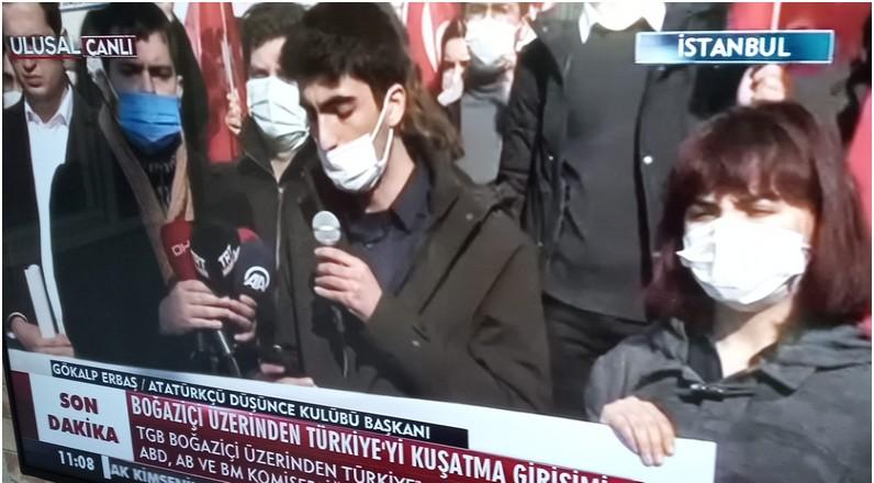 Boğaziçi olayları Protesto edildi!