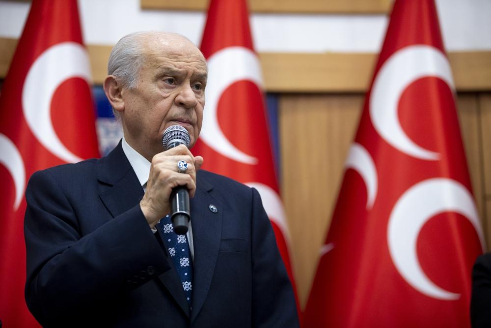BAHÇELİ:BU USLUPTAN BİZ UTANDIK!PKK YANCILARI BİZE AKIL VEREMEZ