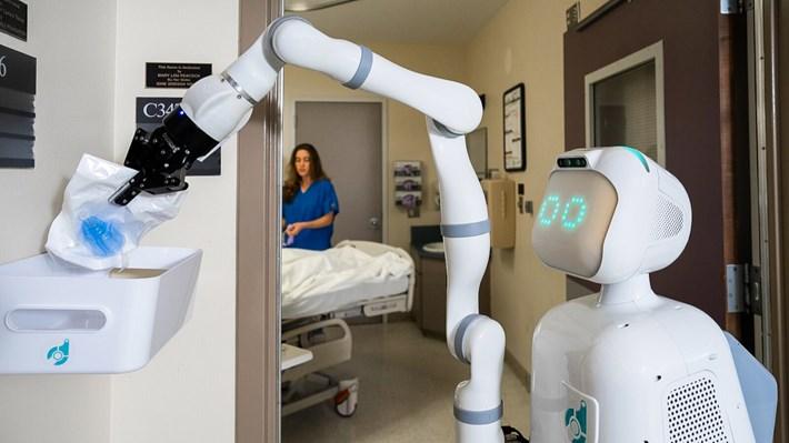 ROBOT HEMŞİRE DÖNEMİNE HAZIR OLUN!