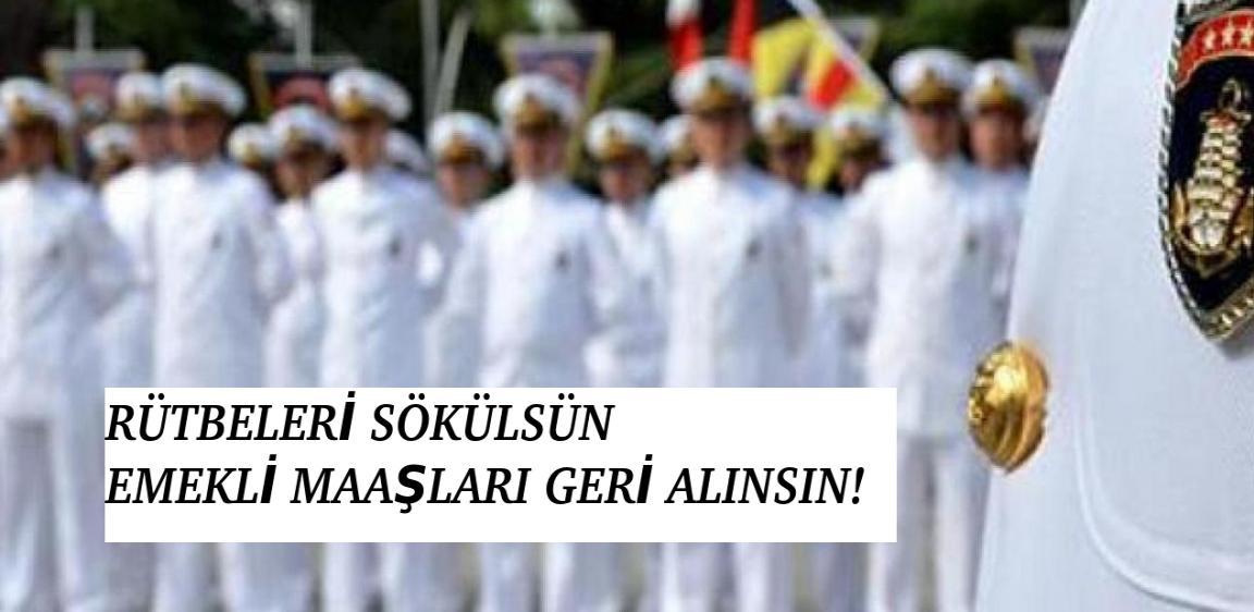 "O BİLDİRİYE İMZA ATAN ""AMİRALLER ""GÖZALTINA ALINMAYA BAŞLANDI!"