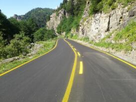 Karadeniz-Akdeniz yolu projenin %98 i tamamlandı