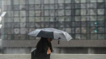 Samsun ve çevresinde yağan şiddetli yağmur etkili oldu!