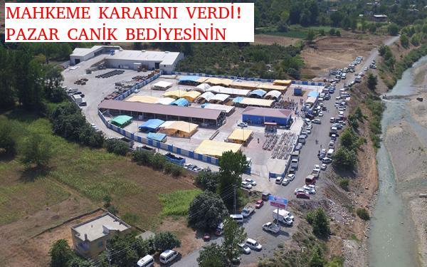 """CANİK """"HAYVAN PAZARI"""" İÇİN KARAR VERİLDİ!"""