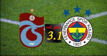 TRABZONSPOR EZDİ GEÇTİ! 3.1